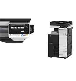Konica Minolta Bizhub C308 Copier-Printer-Scanner  Meter 30k (REFURBISHED)