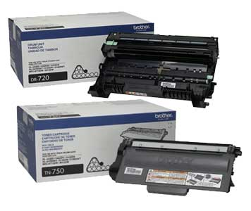 Black,5 Pack TN720 TN-720 TN-750 SuppliesOutlet Compatible Toner Cartridge Replacement for Brother TN750