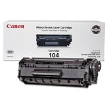 Genuine NEW Canon 104 (0263B001AA) Black Toner Cartridge