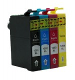 Compatible Epson (T1251) Black (T1252) Cyan (1253) Magenta (T1254) Yellow Ink Cartridge