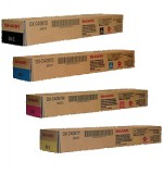 Genuine Sharp DX-C40NTB, DX-C40NTC, DX-C40NTM, DX-C40NTY Toner Cartridge Set