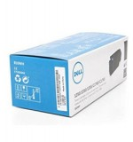 Genuine Dell 810WH (332-0407) Black High Yield Toner Cartridge 2,000 pg yield For Dell 1250c 1350cnw 1355cn