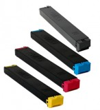 Compatible Sharp MX23NT 4 Color B/C/M/Y MultiPack Series Laser Toner Cartridges