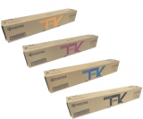Genuine Kyocera TK-8117K, TK-8117C, TK-8117M, TK-8117Y Toner Cartridge Set