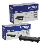 Brother TN-760, Brother DR-730 OEM