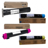 New Genuine Xerox 6R1513, 6R1516, 6R1515, 6R1514 Color Toner Cartridge Set