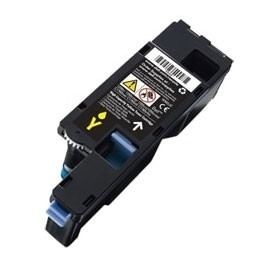 Compatible Dell WM2JC (332-0408) Yellow High Yield Toner Cartridge 1,400 pg yield For Dell 1250c 1350cnw 1355cn