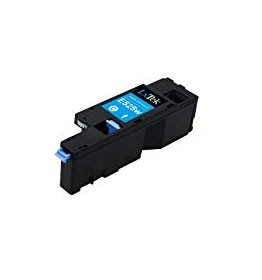 Compatible Dell 593-BBJU (H5WFX) Cyan Toner Cartridge 1,400 pg yield For Dell E525W
