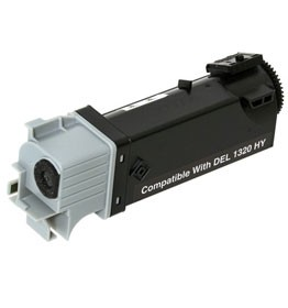 Compatible Dell DT615 (310-9058) Black High Yield Toner Cartridge 2,000 pg yield For Dell 1320c
