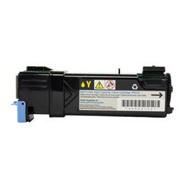 Compatible Dell PN124 (310-9062) Yellow High Yield Toner Cartridge 2,000 pg yield For Dell 1320c