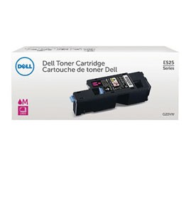 Genuine Dell 593-BBJV (WN8M9) Magenta Toner Cartridge 1,400 pg yield For Dell E525W