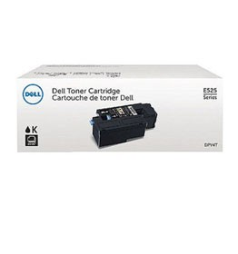 Genuine Dell 593-BBJX (H3M8P) Black Toner Cartridge 2,000 pg yield For Dell E525W