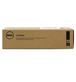 Genuine Dell GHJ7J (332-2115) Black Toner Cartridge 18,000 pg yield For Dell C5765 C5765dn