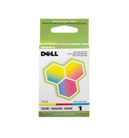 Genuine Dell T0530 (310-4143) Tri-Color High Yield Ink Cartridge For Dell A920, Dell 720