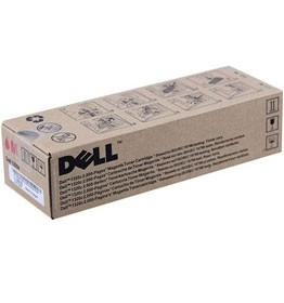 Genuine Dell WM138 (310-9064) Magenta High Yield Toner Cartridge 2,000 pg yield For Dell 1320c