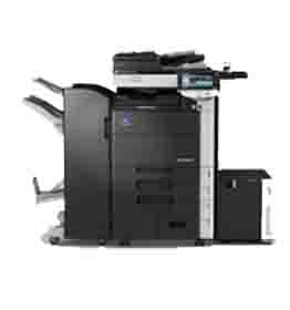 Konica Minolta Bizhub 552 B/W Copier Printer Scanner Fax Finisher LOW use 346k (REFURBISHED)
