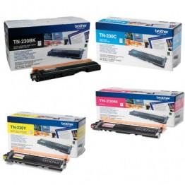 Copiertrader > Supplies & Parts > Brother TN-230BK, TN-230Y