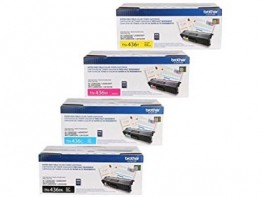 GENUINE BROTHER TN436BK, TN436C, TN436Y, TN436M TONER