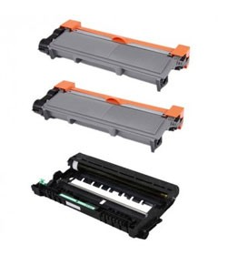 Compatible Brother TN-630, Brother TN-660, Brother DR-630
